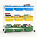 "Nine Tub Storage Cart - 36.5""H, 36922"