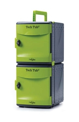Tech Tub2 Ten Tablet Charging and Storage Tub with USB Hub, 30644