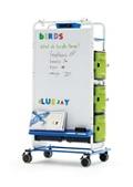 Tech Tub2 Teaching Easel with Device Storage and Charging with USB, 30654