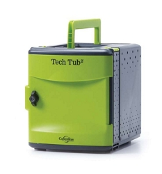 Tech Tub2 Six Tablet Charging and Storage Tub, 30642