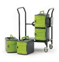 Tech Tub2 Cart with Four 6 Device Tubs, 30647