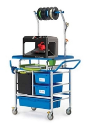 3D Printer Cart with Storage and Tech Tub, 37022