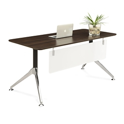 "Astoria Compact Table Desk with Modesty Panel - 60""W x 30""D, 14435"