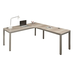 "At Work Corner Desk with User Curve - 72""W x 72""D, 14663"