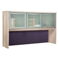 "At Work Hutch with Glass Doors - 60""W, 16078"