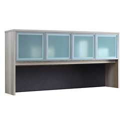 "At Work Hutch with Glass Doors - 72""W, 16079"