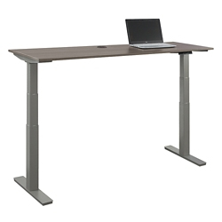 "At Work Adjustable Height Desk -72""W x 24""D, 16092"