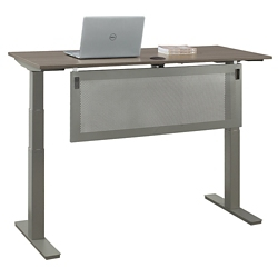 "At Work Desk with Modesty Panel - 48""W, 16097"