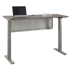 "At Work Desk with Modesty Panel -72""W, 16100"