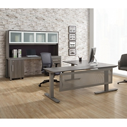 At Work Executive L-Desk Office Suite, 16109