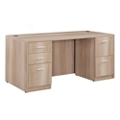 "Formation Compact Double Pedestal Desk - 66""W, 16145"