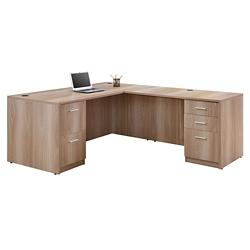 "Formation Compact Reversible L-Desk - 66""W, 16147"