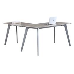 "Portland Compact Reversible L-Desk - 60""W x 65""D , 16198"