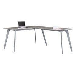 "Portland Compact Reversible L-Desk - 60""W x 78""D , 16201"