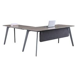 "Portland Reversible L-Desk with Modesty Panel - 72""W x 78""D , 16203"