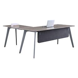 "Portland Reversible L-Desk with Modesty Panel - 72""W x 66""D , 16205"