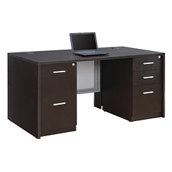 "At Work Compact Desk - 60""W x 30""D, 16411"