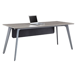 "Portland Writing Desk with Modesty Panel - 72""W x 30""D , 16202"
