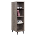 "Portland 59""H Four Shelf Bookcase, 16473"