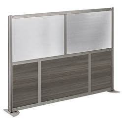 "At Work 73"" W x 52"" H Room Divider, 21427"