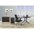 "Astoria Two-Tier 60""W L-Desk with Reversible Return and Lateral File, 14570"