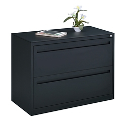 "Carbon Two Drawer Lateral File - 36""W, 30931"