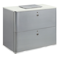 "Brilliant 37""W Two Drawer Lateral File, 30932"
