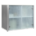 "Brilliant Storage Cabinet W/ Glass Doors - 37""W, 37391"
