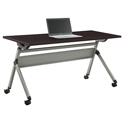 "At Work Flip Top Training Table - 60""W x 24""D, 46927"