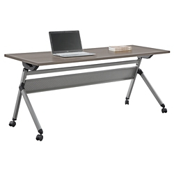 "At Work Flip Top Training Table 72""W x 24""D, 46928"