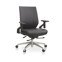 Swing Swing-Back Arm Faux Leather Task Chair, 57151