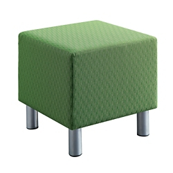 Gather Soft Fabric Square Shape Seat, 57322