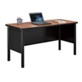 "Stahl Steel Desk Shell with Laminate Top - 72""W x 24""D, 11010"