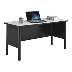 "Stahl Steel Desk Shell with Laminate Top - 60""W x 24""D, 11011"