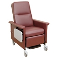 Heat and Massage Recliner with Trendelenburg and Side Table, 26267