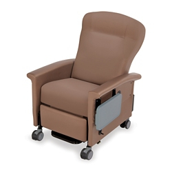 Wing-Back Transport Recliner with Side Table, 26276