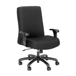Everest 24-Hour Big & Tall Mid-Back Fabric Chair, 56096