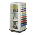 "Mobile Physical Therapy Exercise Cabinet - 65""H , 25288"