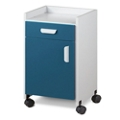 Mobile Bedside Cabinet with Lip, 25291