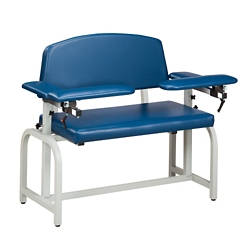 Extra Wide Phlebotomy Chair with Flip Arms, 25320
