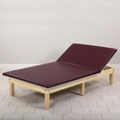"Physical Therapy Mat Platform with Adjustable Backrest - 84"" x 60"", 25402"