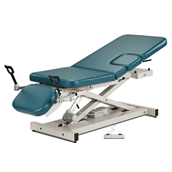 Imaging Table with Adjustable Sections and Stirrups, 25975