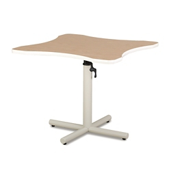 Adjustable Height Hand Therapy Table with X-Style Base, 25978