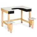 "Whirlpool Hydrotherapy Table with Plastic Surfaces - 39""H, 25987"