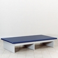 "Value Physical Therapy Mat Platform with Laminate Frame - 84"" x 60"", 26031"