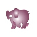 "Elephant Pediatric Wall Sticker - 50""H, 82039"