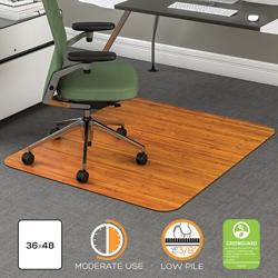 "Contemporary Chair Mat for Carpet- 36"" x 48"", 54935"