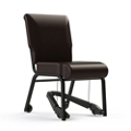 "Armless Vinyl Chair with Mobility Assistor - 18""W Seat, 26401"