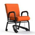 Vinyl Swivel Chair with Mobility Assistor , 26409