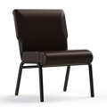 "Armless Vinyl Chair - 24""W Seat, 26414"
